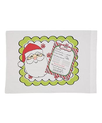 Santa Letter Travel Pillow