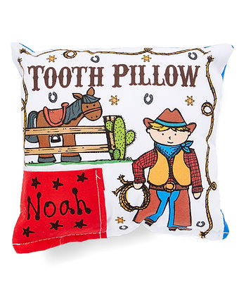 Cowboy Tooth Pillow