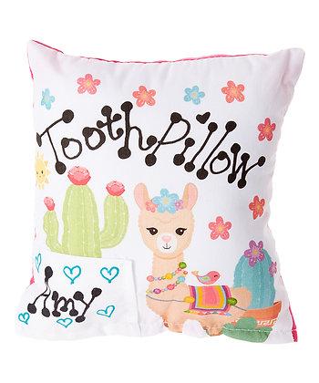 Llama Tooth Pillow