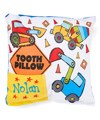 Construction Truck Tooth Pillow