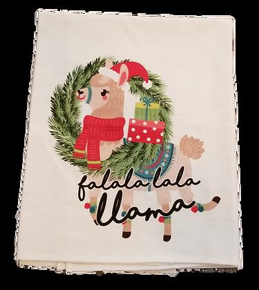 Falalala Llama Tea Towel