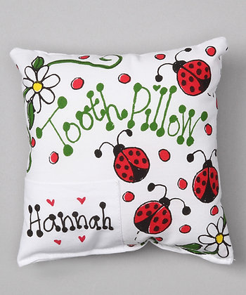 Ladybugs Tooth Pillow