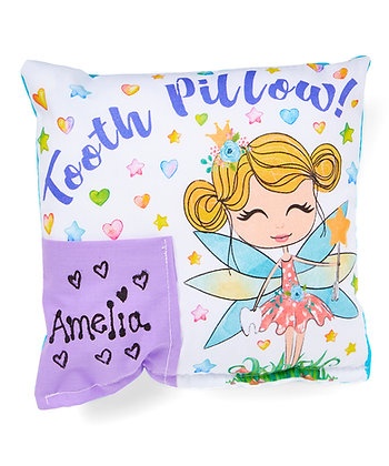 Whimsy Fairy Personalized Tooth Fairy Pillow