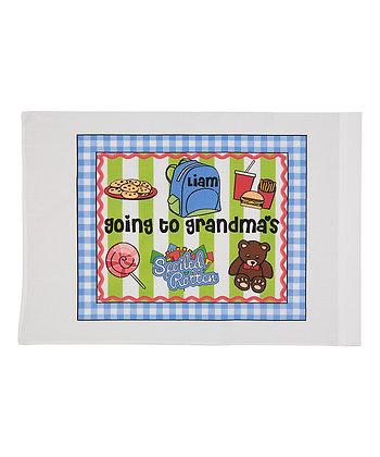 Going To Grandma's w/Custom Name Standard Pillowcase