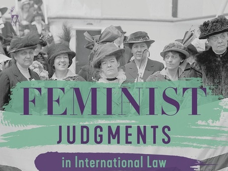 Book Review: Feminist Judgments in International Law