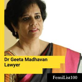 Dr Geeta Madhavan