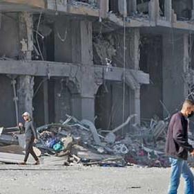 The Devastating Gun Battle in Gaza is Being Fought in an Uneven Killing Field