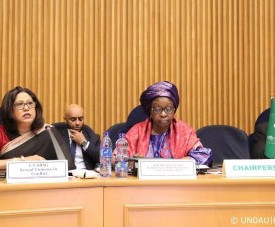 Remarks by SRSG Patten, Women & Armed Forces: Parity in Uniform Conference
