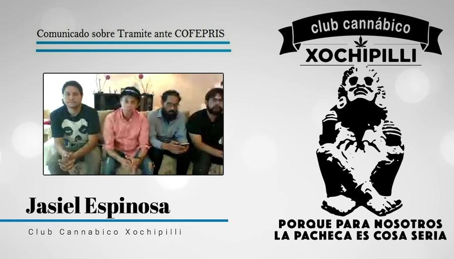 Club Cannabico Xochipilli comunicado sobre tramite COFEPRIS