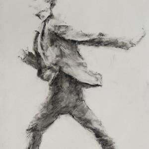 homme qui court