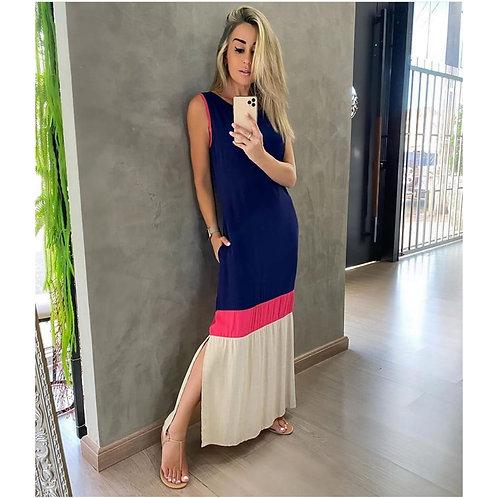 Vestido Valentina Bicolor