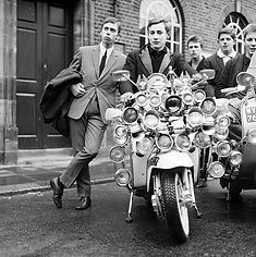 The Mods, Mod movement, Vesp, Lambrett, soul music, Motown, Small Faces, The Who, The Syn, Martha Reeves, ska