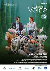 Global Voice magazine #16 - sustainability, CSR, socent, management, leadership