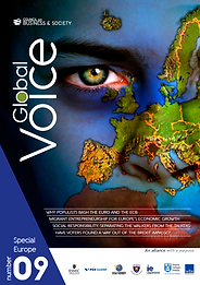 Global Voice special fcus on Europe, copiled and edtted by Tom Gamble and featuring cuttin -edge research from ESSEC Business School, IE Business School, Trinity Business School, and Warwick Business School