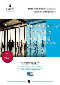 Negotiations, mediation, Aurélien Colson, Tom Gamble, ESSEC IRENE, ESSEC Business School