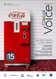 Global Voice magazine #15 - sustainability, CSR, socent, management, leadership
