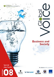 Global Voice special Asia-Pacific issue featurng cutting-edge research in managemen, CSR, sustainability, marketing, ethics