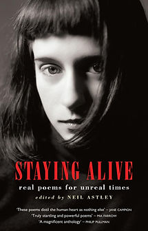 Staying alive, Neil Astley, poetry, Bloodaxe Books, Tom Gamble, Robert Frost