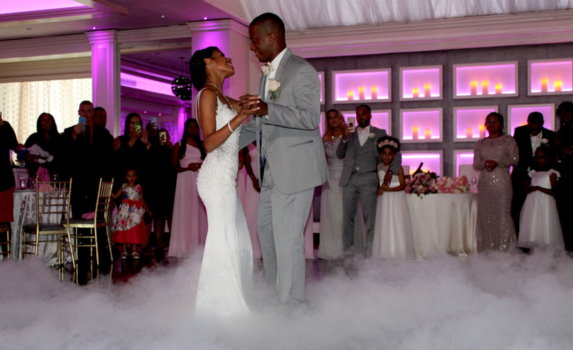 Wedding Dance on the  clouds