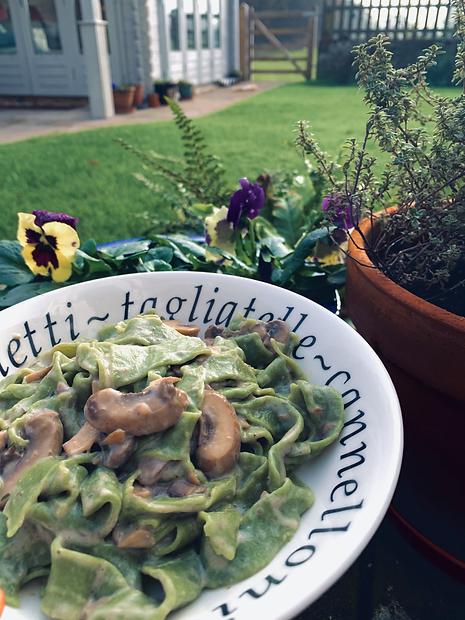 Fresh Vegan Mushroom Pasta.heic
