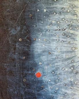 Detail of Backbone of the night II