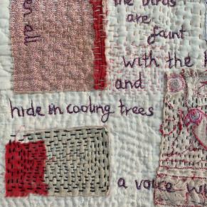 Bird poem- detail