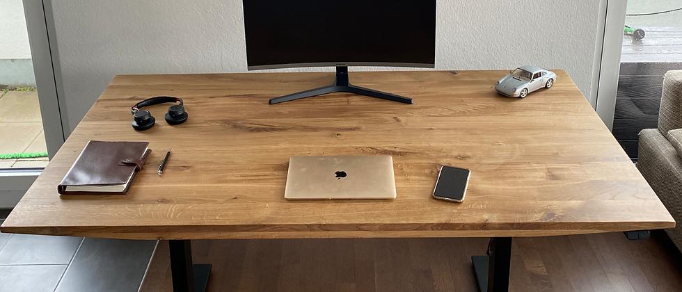 Home Office Line: Schreibtisch DarkOak