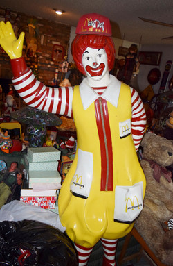 Ronald McDonald statue