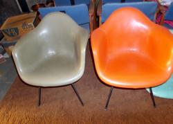 Mid Century Modern fiberglass chairs