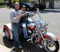 new owner of 2003 Harley-Davidson FLSTC_FLSTCI Heritage Softail Classic - Red and Silver