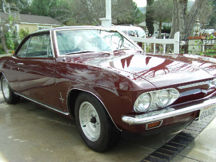 Corvair 1966 140-4 with a 4 speed manual transmission