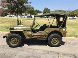 1943 Willys Ford military Jeep fully restored