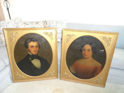 19th century americian portraits from Bromley Mass
