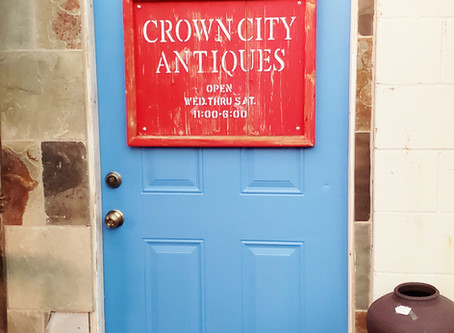 Last Week for Crown City Antiques Store Mon-Wed Jan 27-29