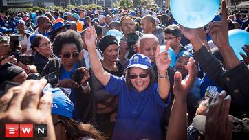 DA celebrates 'turning point in SA history'