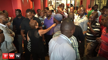 Furious Uber drivers invade Cape Town office