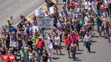 Thousands of Capetonians march under #ZumaMustFall banner