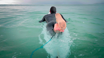 Shark attack survivor's surfing fairytale