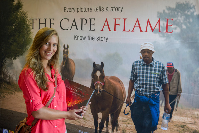 2015 Cape Peninsula fire commemorated in new photo book