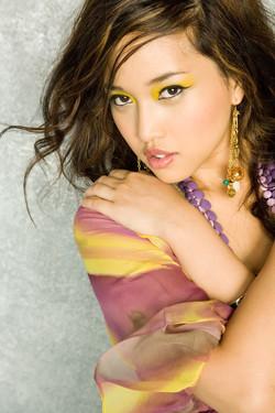 Model in Yellow