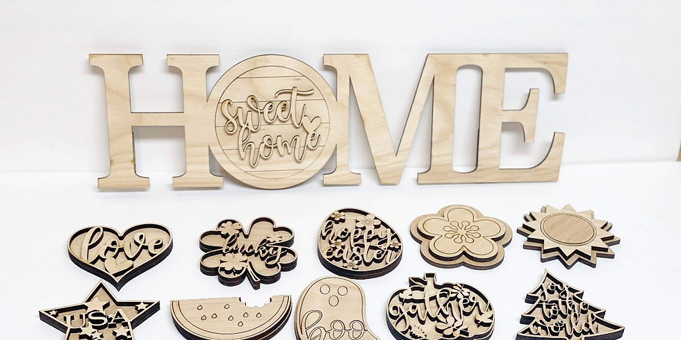 Interchangeable home sign  (2)