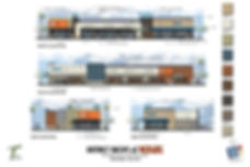 design review elevations district shops at westgate