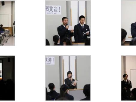 信男学園上海文來高校との国際交流
