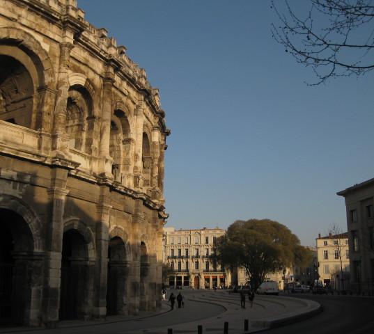 Nimes' Roman Arena.