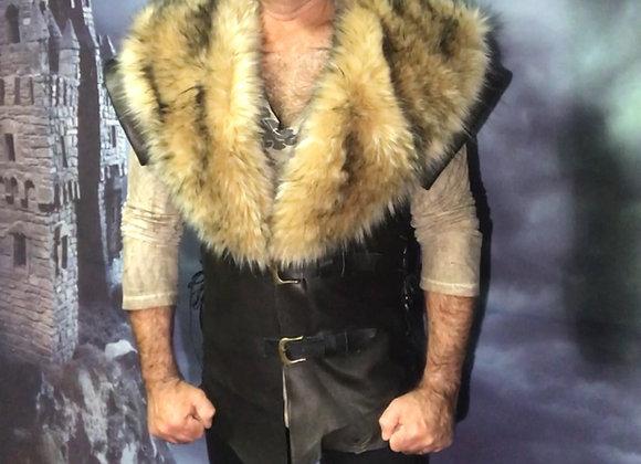 The Hunter leather vest.