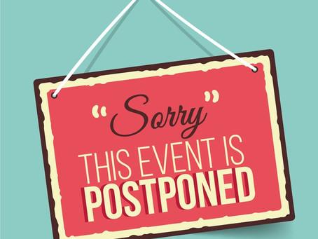 Lubricus Reunion is Postponed