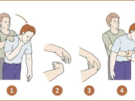 A manobra de Heimlich salva vidas em caso de engasgo