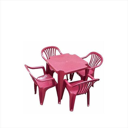 Jogo de mesa e cadeiras infantil