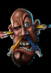 FunkyAssDesigns Emblem Caricature Design