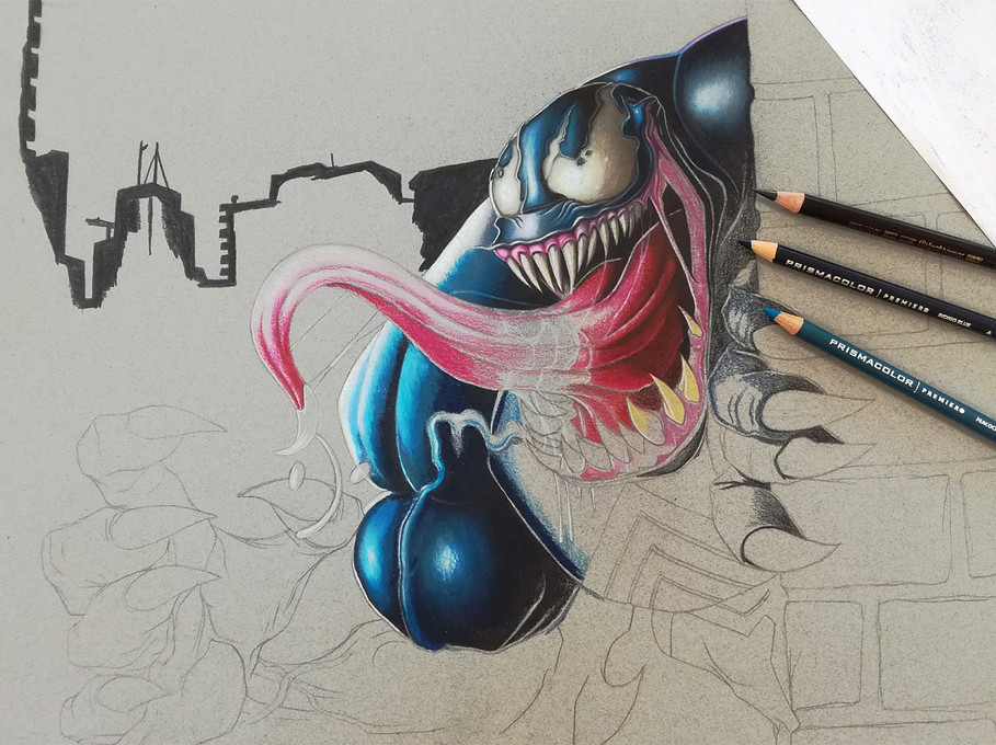 Venom in Prismacolor 2.jpg